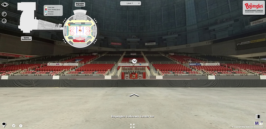 A live example of an Arena's Virtual Tour