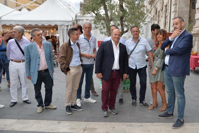 Ascoliva Festival, siamo partiti... Aperto il villaggio dell'oliva. Le prime foto