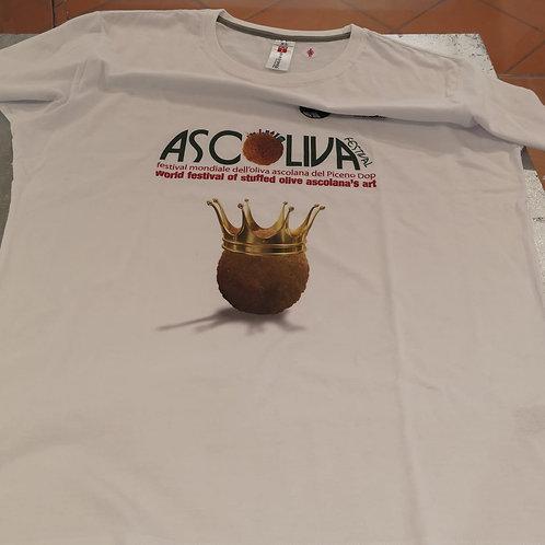 "T-shirt mod. ""Classic"" - Official t-shirt Ascoliva Festival"