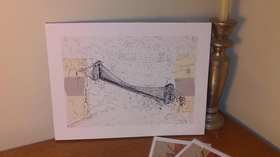Art Print of Brunel's Clifton Suspension Bridge, Bristol