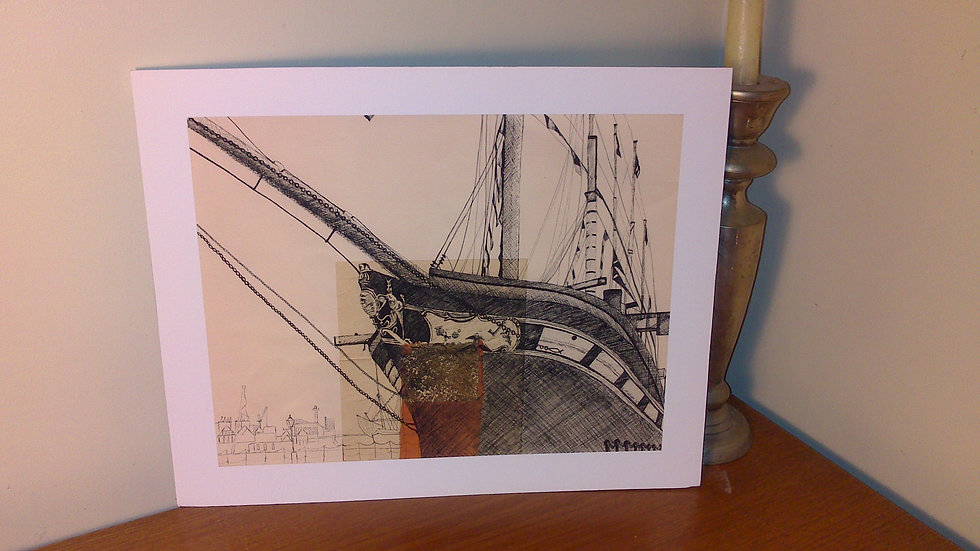 Art Print of SS Great Britain Ship, Bristol