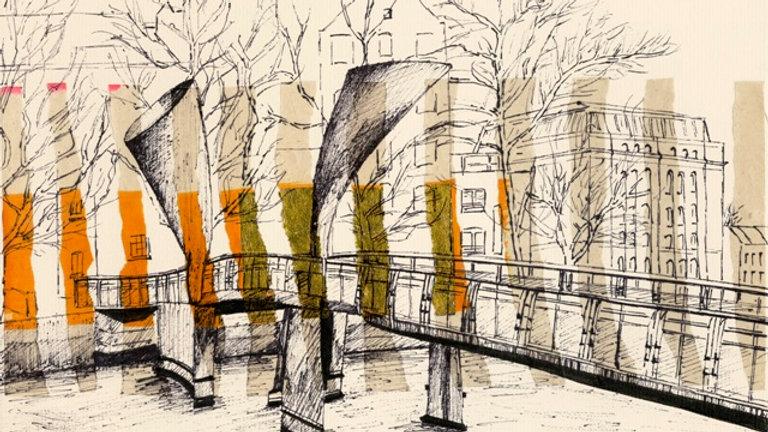 Art Print of Pero's Bridge, Bristol
