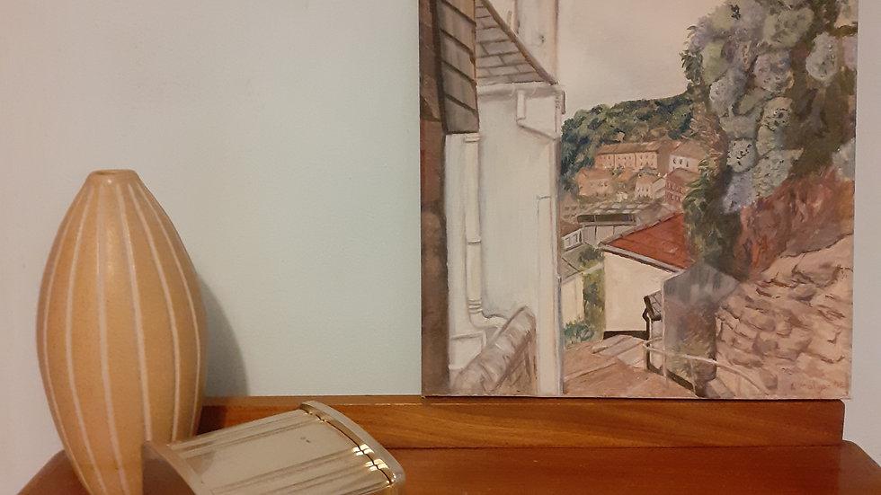 Oil Painting of Cornish scene