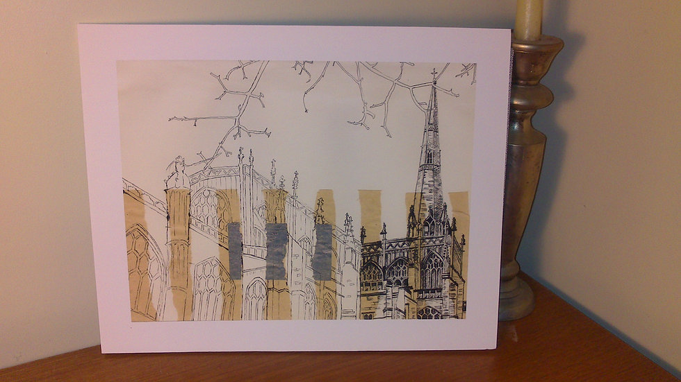 Art Print of St Mary Redcliffe Church, Bristol
