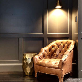 Antique Brass New Haven wall light & shade