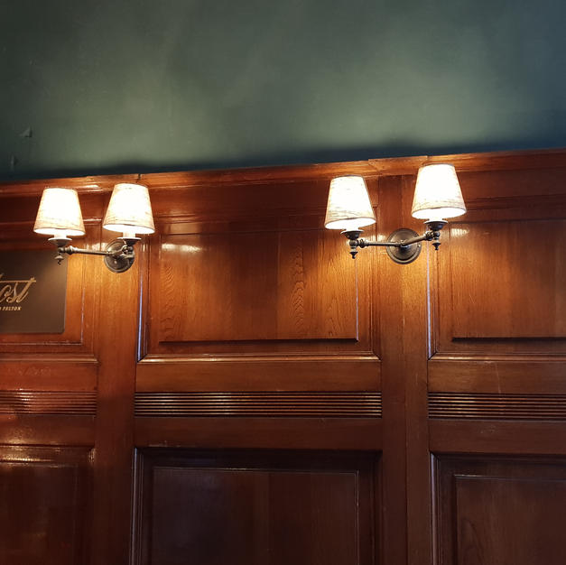 Double Whitmore wall lights
