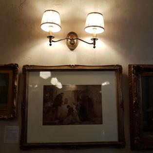 Double Chelsea wall light