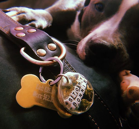 Customized Hemp Animal Tag