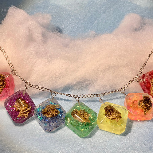 Hemp Pride Rainbow Necklace