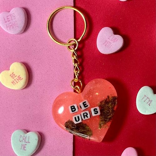 Be Urs Hemp keychain