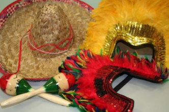 Assorted goods from Brazil and Mexico