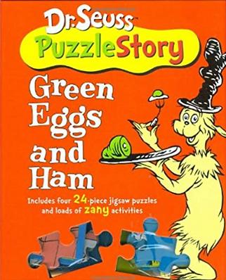 Dr Seuss Puzzle Story (four 24 piece puzzles)