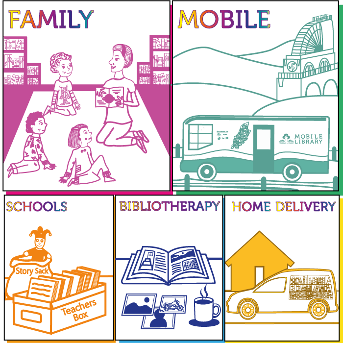 Link to the family library page