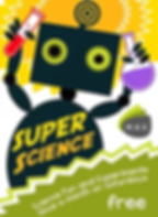 Super Science is free to attend