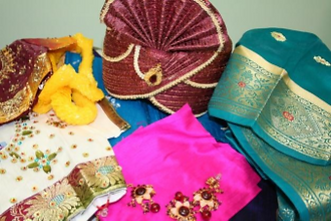 Assorted goods from India