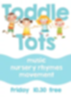 Toddle Tots is free to attend