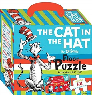 Dr. Seuss - The Cat in the Hat Floor Puzzle