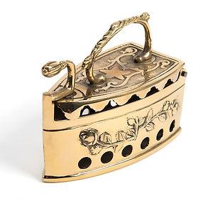 Victorian - Brass Handle Iron