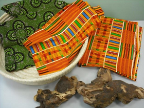 Assorted goods from Africa