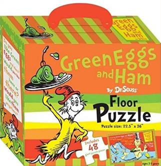Dr. Seuss Green Eggs and Ham Floor Puzzle