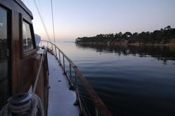 sleeping on the anchor in Arrabida