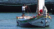 Lisbon sailing barge tours, canoas do Tejo