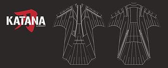 Birdman wingsuit katana