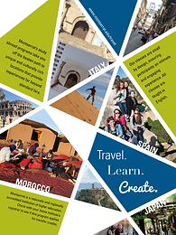 STUDY ABROAD POSTER