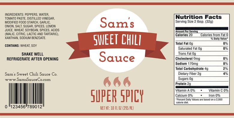 Super Spicy label