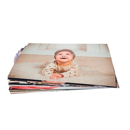 100 Fotografías 13x18cm + 2 Retablos Fuji 20x30