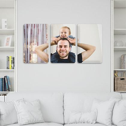Wall Galery - 3 Lienzos 40x50cm