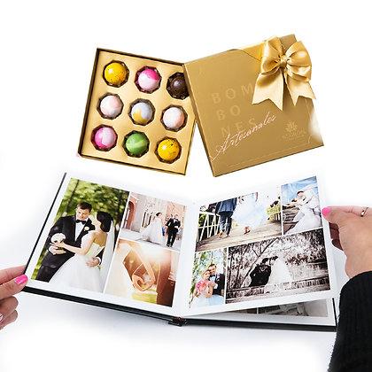 Kit Photobook 20x25cm + Bombones Negron
