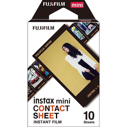 Instax Mini Contact Sheet Film X10
