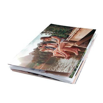 100 Fotografías 10cm x 15cm + 2 Retablos Fuji 20cm x 25cm