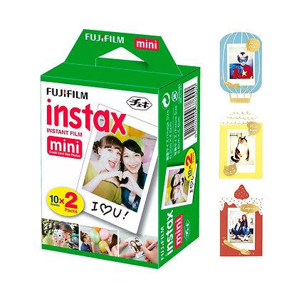Films Para Instax Mini X 20 + 1 Frame (aleatorio)
