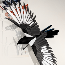 Paper Magpies