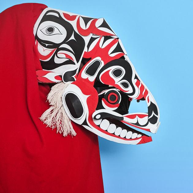 Salmon Mask