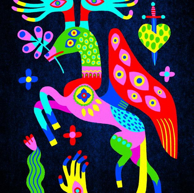 Neon Monster