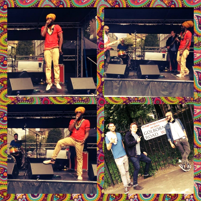 RZR & The Zappi Band _ Golborne Road Fest