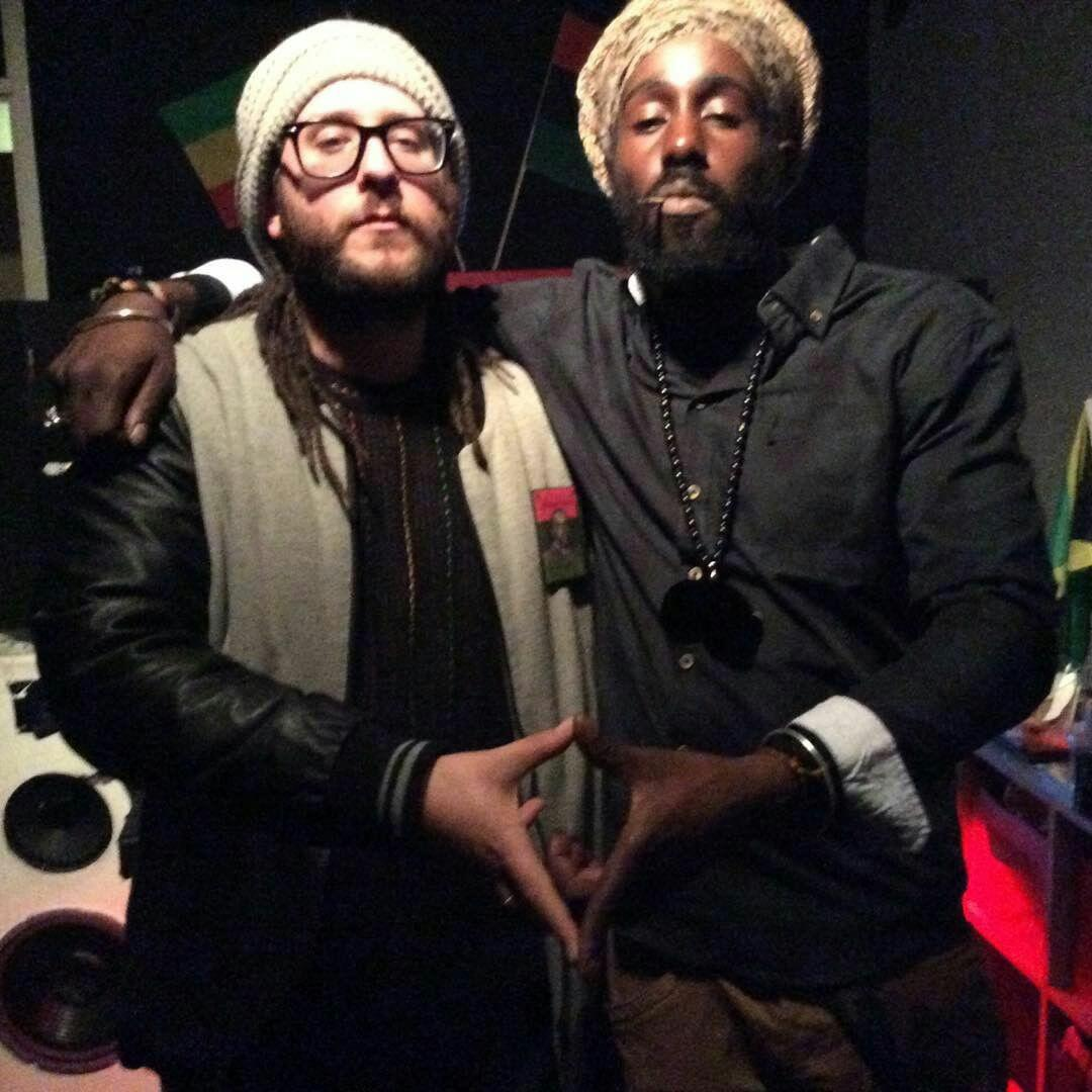 Amsterdam - studio with Ras Tariq