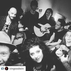 #Repost _vingoodwin with _repostapp_・・・_After show dressing room selfie _stjamestheatre _jayscottand