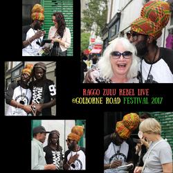 Raggo Zulu Rebel live _Golborne Road Festival