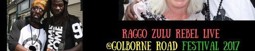 Raggo Zulu Rebel live _Golborne Road Fes
