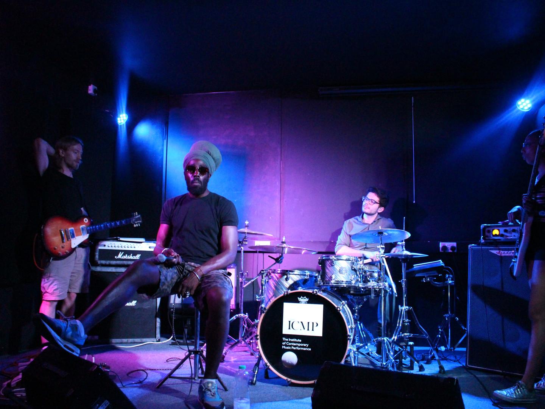 Raggo Zulu Rebel and the band