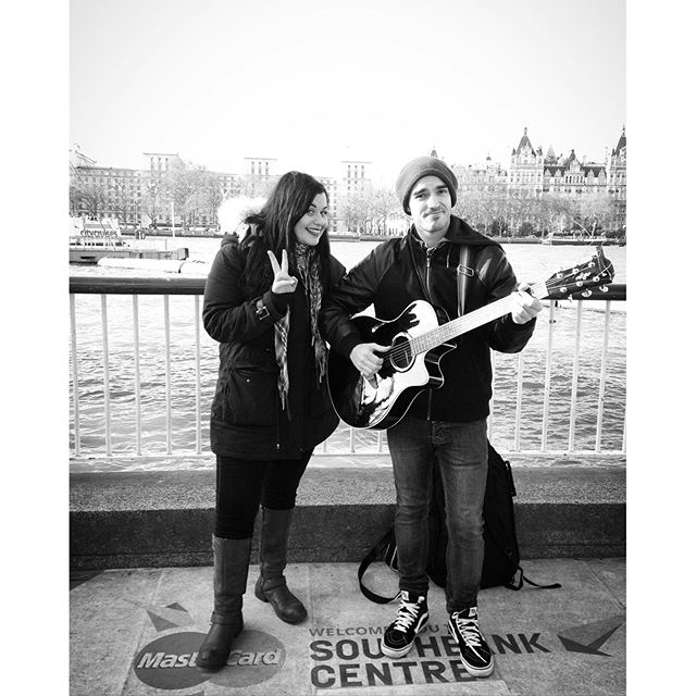 #aboutyesterday #busking #live from #southbank #london with _rickpuddumusic ✌🏻️🎶🎶 #zappiband