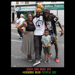 Raggo Zulu Rebel live _Golborne Road Festival (2)