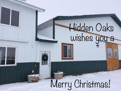 Happy Holidays at Hidden Oaks!