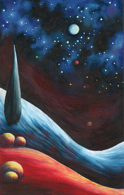 Nightscene on Mars