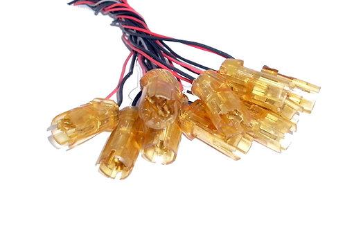 Soquete Plug Conector Lâmpada Esmagada Pingão C10