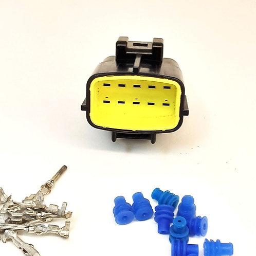 KIT DesmontadoChicote Plug Conector Macho Farol Caminhao Scania 124 - S5 V8